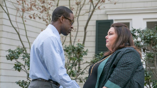 """Sterling Brown and Chrissy Metz in """"This is Us"""""""