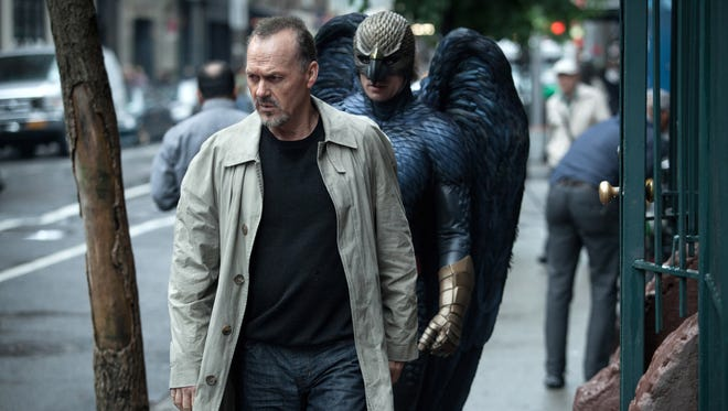 """""""Birdman""""   Director: Alejandro Gonzalez Iñarritu.   Cast: Michael Keaton, Edward Norton, Zach Galifianakis.   Rating: R for language throughout, some sexual content and brief violence.   An amazing movie that delves into the worlds of theater, film and celebrity, directed with great skill and passion by Alejandro Gonzalez Iñarritu."""