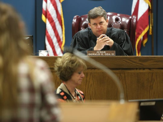 In this Enquirer file photo from 2015, Judge Donald Oda presides over Warren County Common Pleas Court.