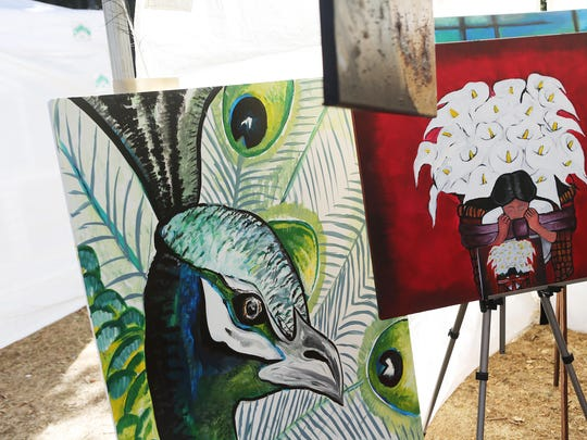 Music, food and art in many forms were on display last year at the Silverton Fine Arts Festival. This year's festival is Aug. 15-16 at Coolidge-McClaine Park, 300 Coolidge St., Silverton.