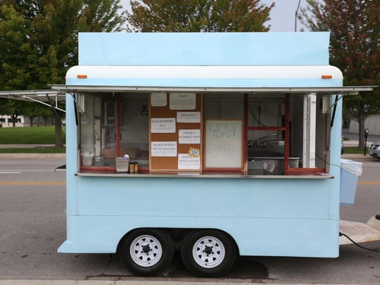 The Let's Toast, gourmet toast bar, food truck.