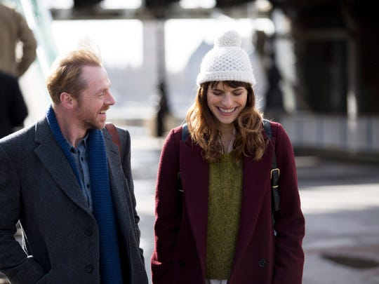 Simon Pegg and Lake Bell  star in the fresh and lively 'Man Up.'