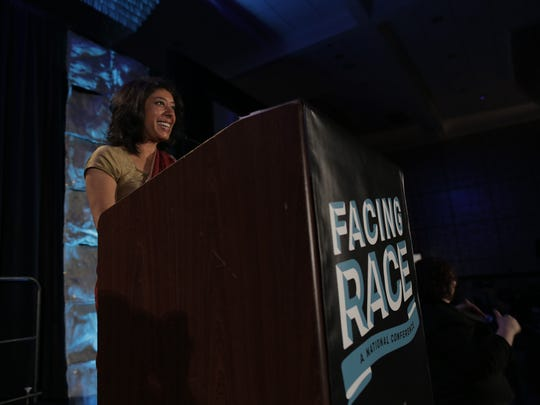 Rinku Sen, president and executive director of Race Forward: The Center for Racial Justice Innovation and publisher of news site Colorlines, finds asking questions the best way to begin a conversation about race.