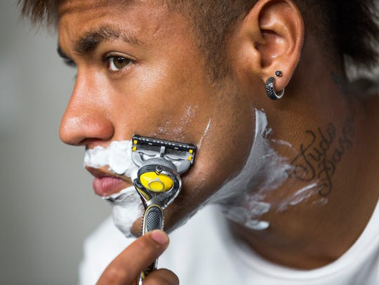 Brazilian soccer star Neymar Jr. is featured in P&G's