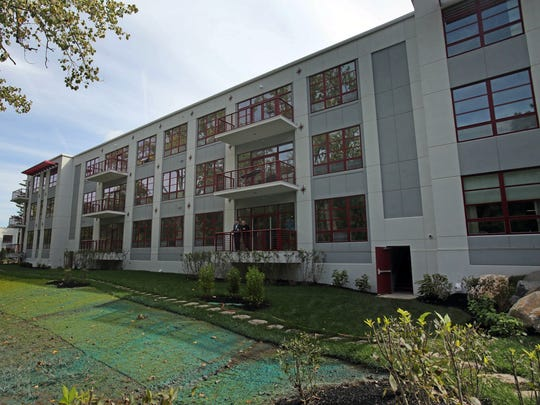 The Lofts on Saw Mill River, a luxury rental complex in Hastings-on-Hudson opened for lease in September.