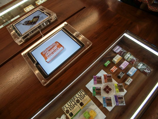 Tablet computers provide information on the edibles