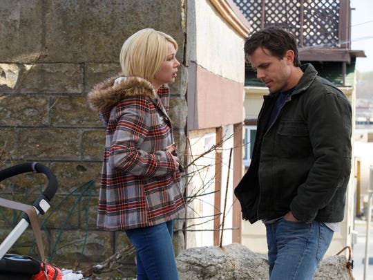 """Michelle Williams and Casey Affleck in """"Manchester By The Sea."""""""