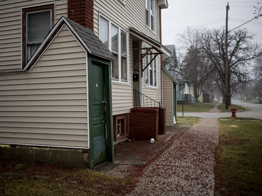 """This rental property at 1040 Chestnut was """"red-tagged"""" by the city of Port Huron following a methamphetamine investigation in February."""