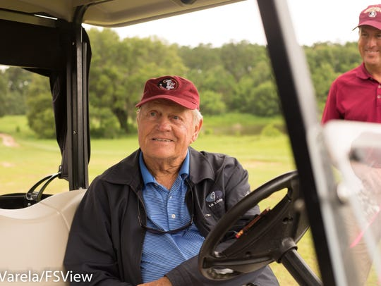 On Thursday afternoon, Jack Nicklaus and Jack Nicklaus