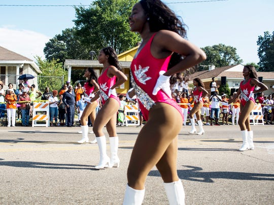 Tennessee State University dancers make their way west