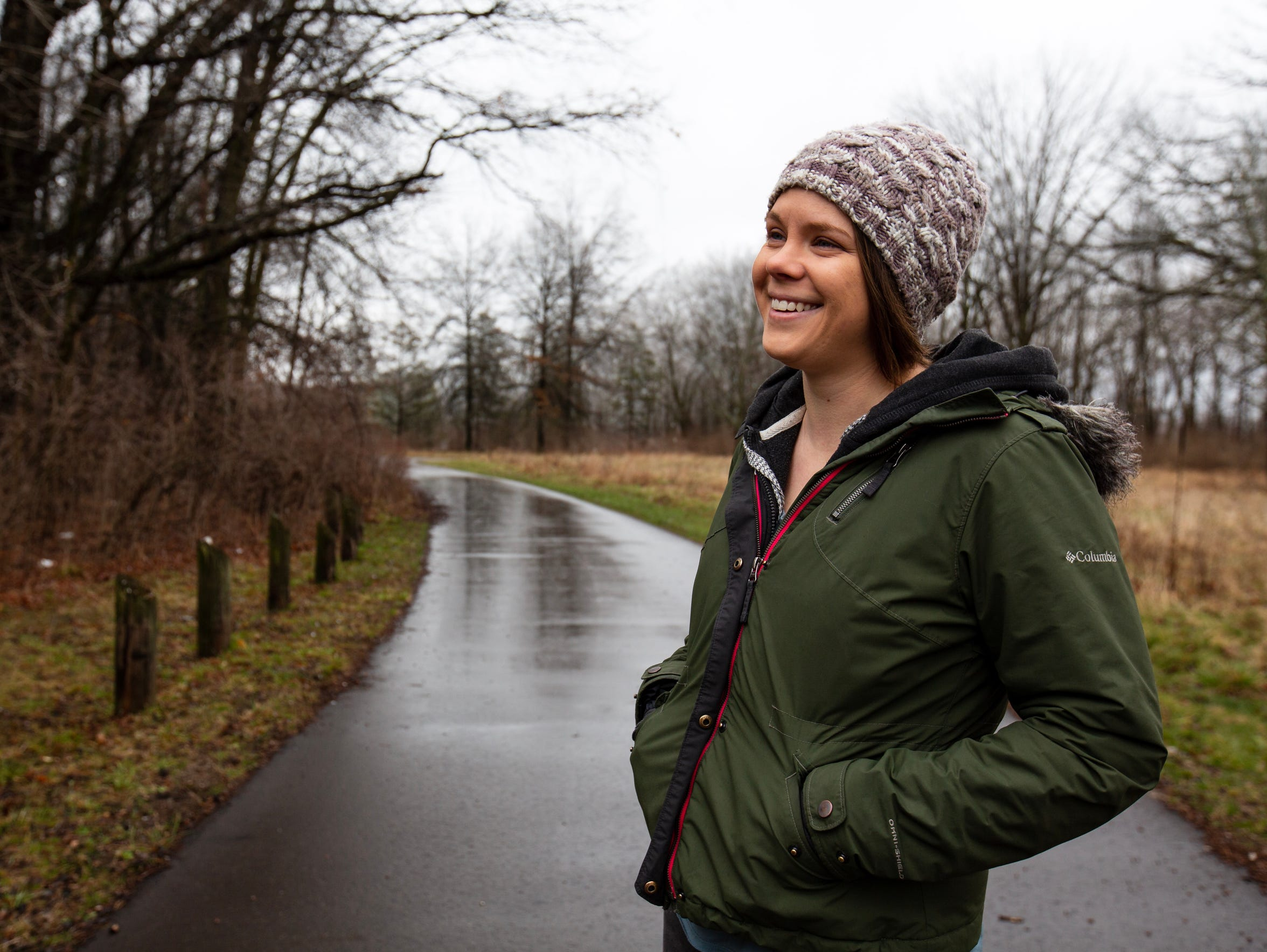 Holt native and trail ambassador for the Friends of