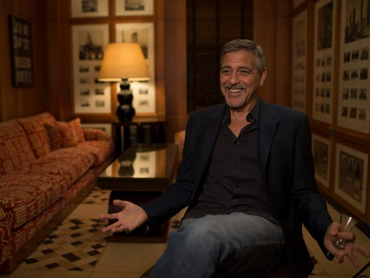 "George Clooney talks about his affection for the Carlyle in ""Always at the Carlyle."""