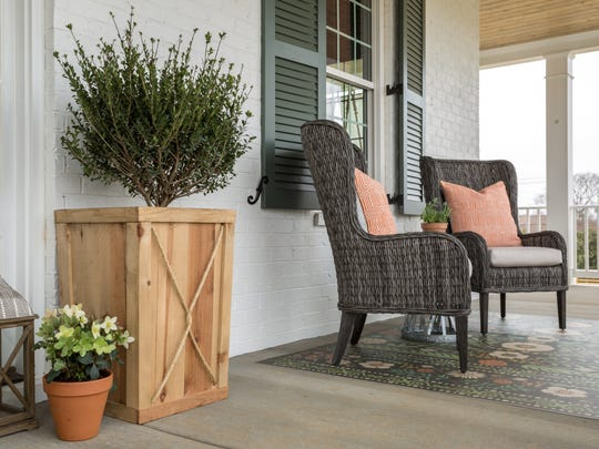 Front porches are becoming a favorite addition for