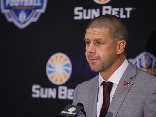 Billy Napier Sun Belt media day