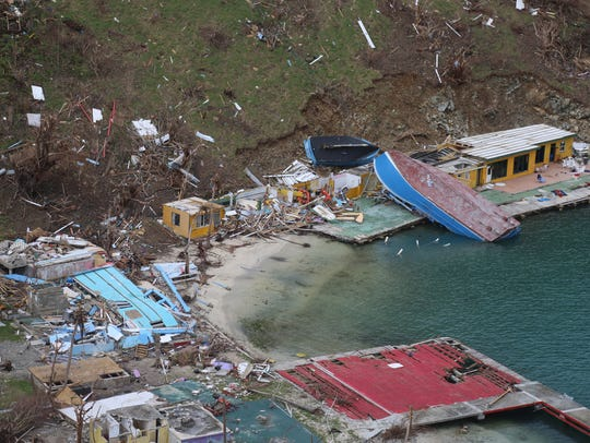 St. John was devastated by Category 5 Hurricane Irma