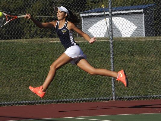 Watkins Memorial at Granville girls tennis