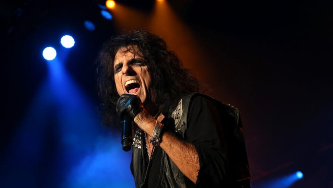 Hard-rocker Alice Cooper will perform on June 24 during the El Paso Downtown StreetFest.