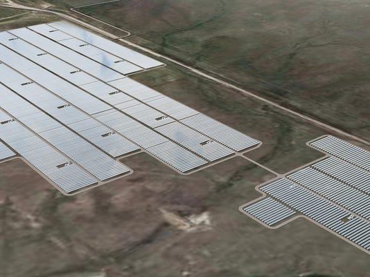 Rawhide solar farm