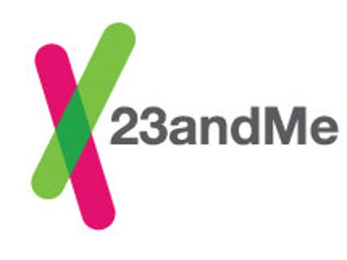 The 23andMe logo.
