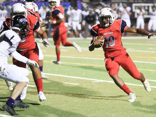 Tulare Western hosts Mission Oak a during a East Yosemite