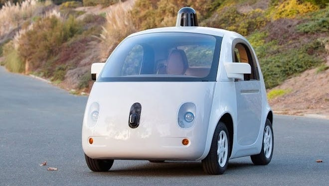 Google's custom electric car fleet could be a forerunning to a car that people can actually buy