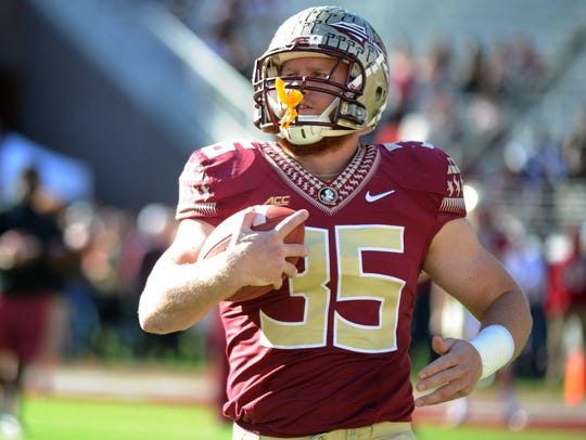 FSU tight end Nick O'Leary has been a game-saver for