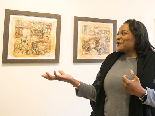 Artist and educator Ophelia Chambliss, of Manchester