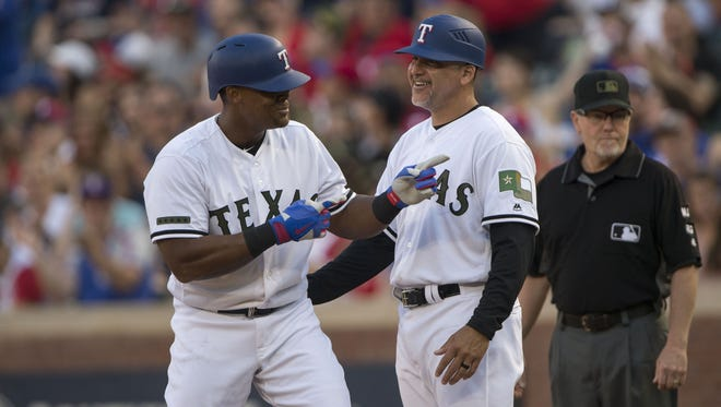 The Texas Rangers welcomed back third baseman Adrian Beltre on Monday after he missed the team's first 51 games with a calf injury.