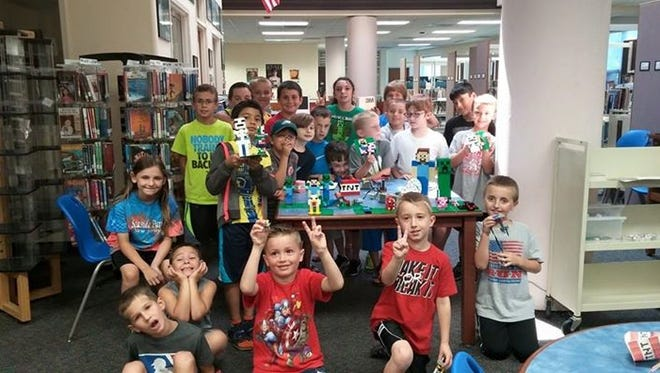Bricks 4 Kidz returns to the Camden County Library System with specially designed models for participants to create.