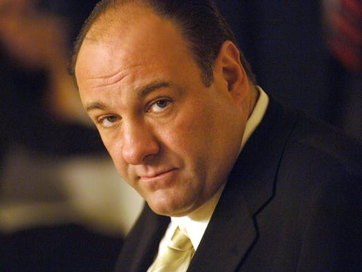 "Actor James Gandolfini, who played Tony Soprano, head of a New Jersey crime family on HBO's ""The Sopranos,"" died June 19 in Italy. He was 51."