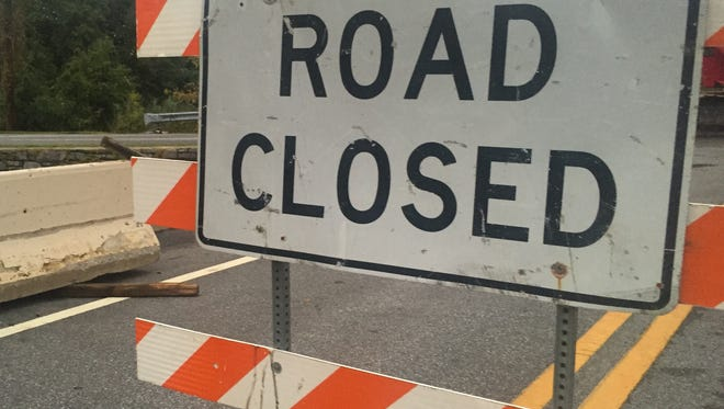 Main Street in St. Georges is scheduled to close for three weeks starting Wednesday as crews rebuild sidewalks.