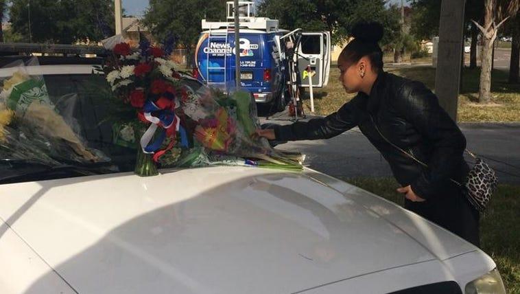 Community honors fallen Tarpon Springs officer
