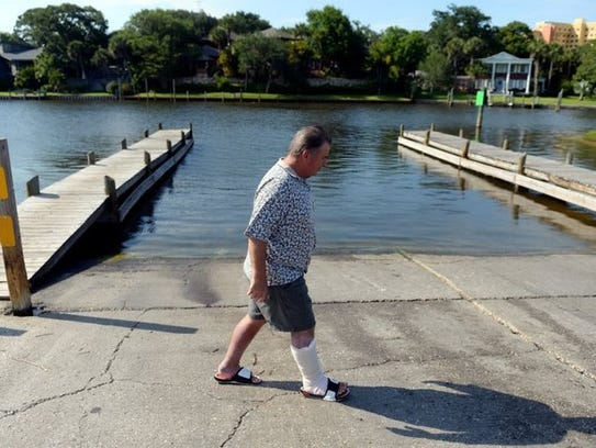 Bill benton 68 of fort pierce died from the bacteria in october