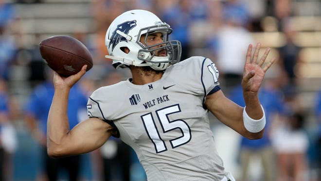 Wolf Pack quarterback Tyler Stewart started all 13 games last season and enters this year with that same starting position.