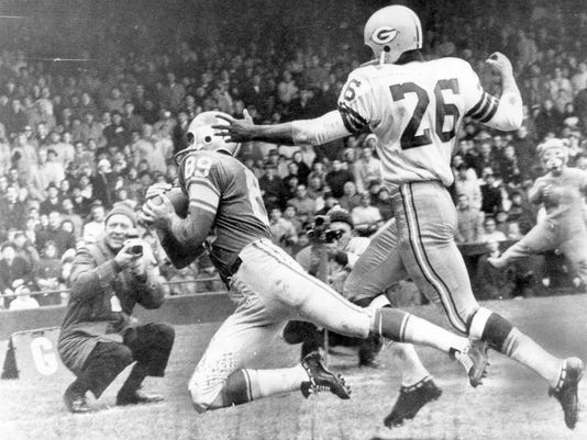 Packers vs. Lions on Thanksgiving 1962
