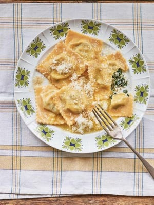 "Homemade pasta is an everyday meal in many Italian homes, and the YouTube channel and cookbook ""Pasta Grannies"" chronicles many different techniques, including these tortelli filled with Swiss chard and ricotta."