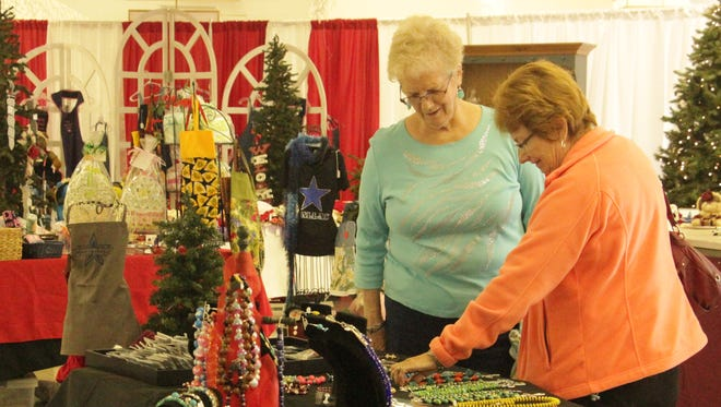 Alamogordo's 38th annual Holiday Craft Show and Sale will take place Saturday Nov. 14 from 9 a.m. to 3 p.m. and Sunday from approximately 10 a.m. to 2 p.m.