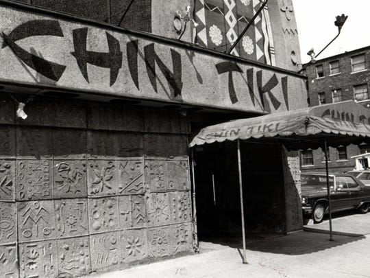 Chin Tiki at 2121 Cass Avenue in downtown Detroit served fine Polynesian lunch and dinner before it closed in 1980. The building was demolished in 2009. Photo dated June 13, 1977.