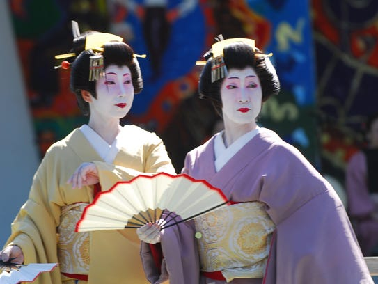 Mitsugi Japanese Classical Dance Group performers from