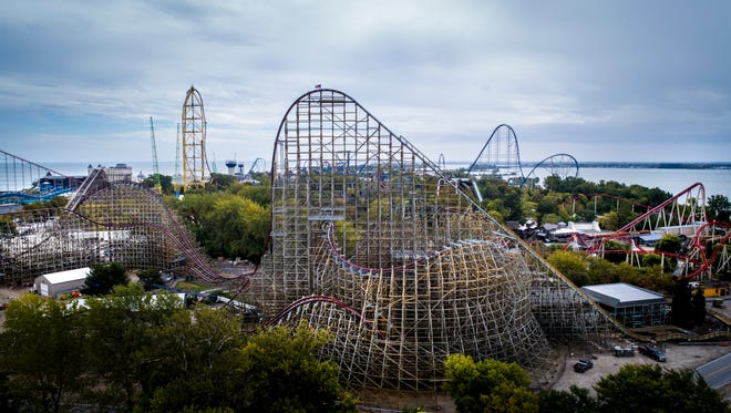 To roller coaster fans, Ohio's Cedar Point is thrill ride paradise. One of its older coasters, Mean Streak, has now been transformed into a metal hyrbid called Steel Vengeance.