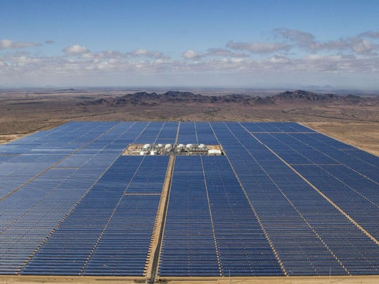 Large Solar Plant Fails To Reach Its Energy Capacity