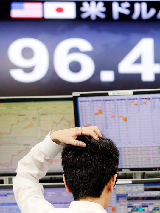 AP APTOPIX Japan World Markets