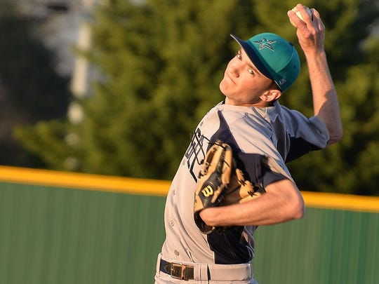 Siegel's Jacob Key will be on the mound on Monday when the Stars host Columbia.