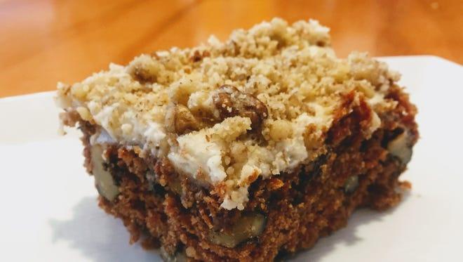 Vegan Carrot Cake at Avalon International Breads