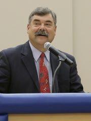 Sheboygan Area School District superintendent Joe Sheehan