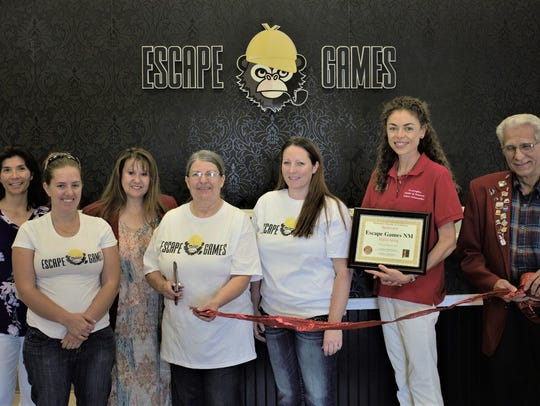 It was a big day for the crew at Escape Game NM, 200