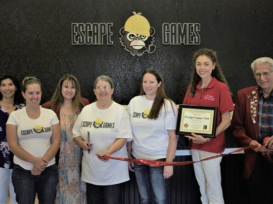 It was a big day for the crew at Escape Game NM, 200 S. Ash, in Aztec.