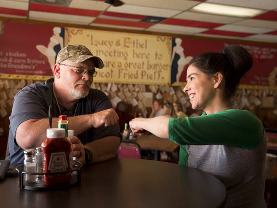 Sarah Silverman and Danny D. Cruchelow have a meeting