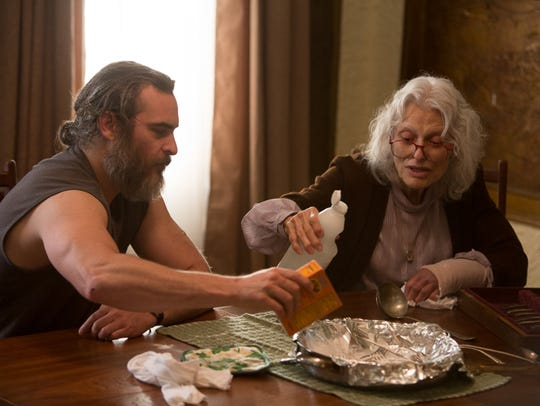 "Joaquin Phoenix and Judith Roberts star in ""You Were"