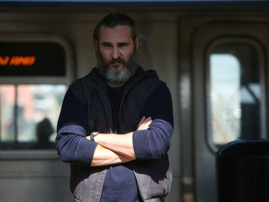"Joaquin Phoenix stars in ""You Were Never Really Here."""